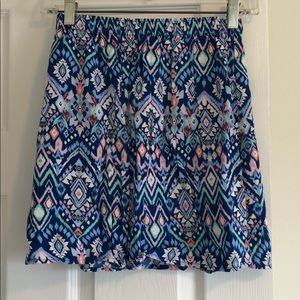🌟Bright Patterned Mini Skirt